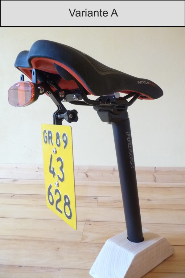 Kontrollschildhalter E-Bike